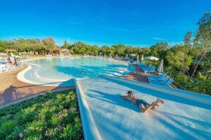 Camping Montescudaio lagune zwembad